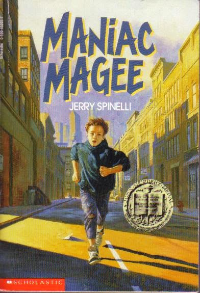 Kiss My Wonder Woman: Think of the Children! Tuesday: Maniac Magee ...