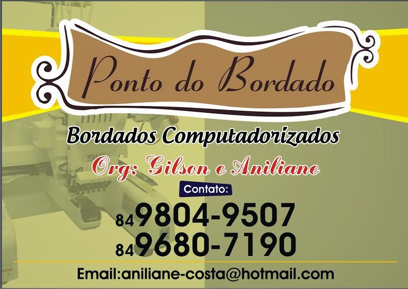 Ponto do Bordado