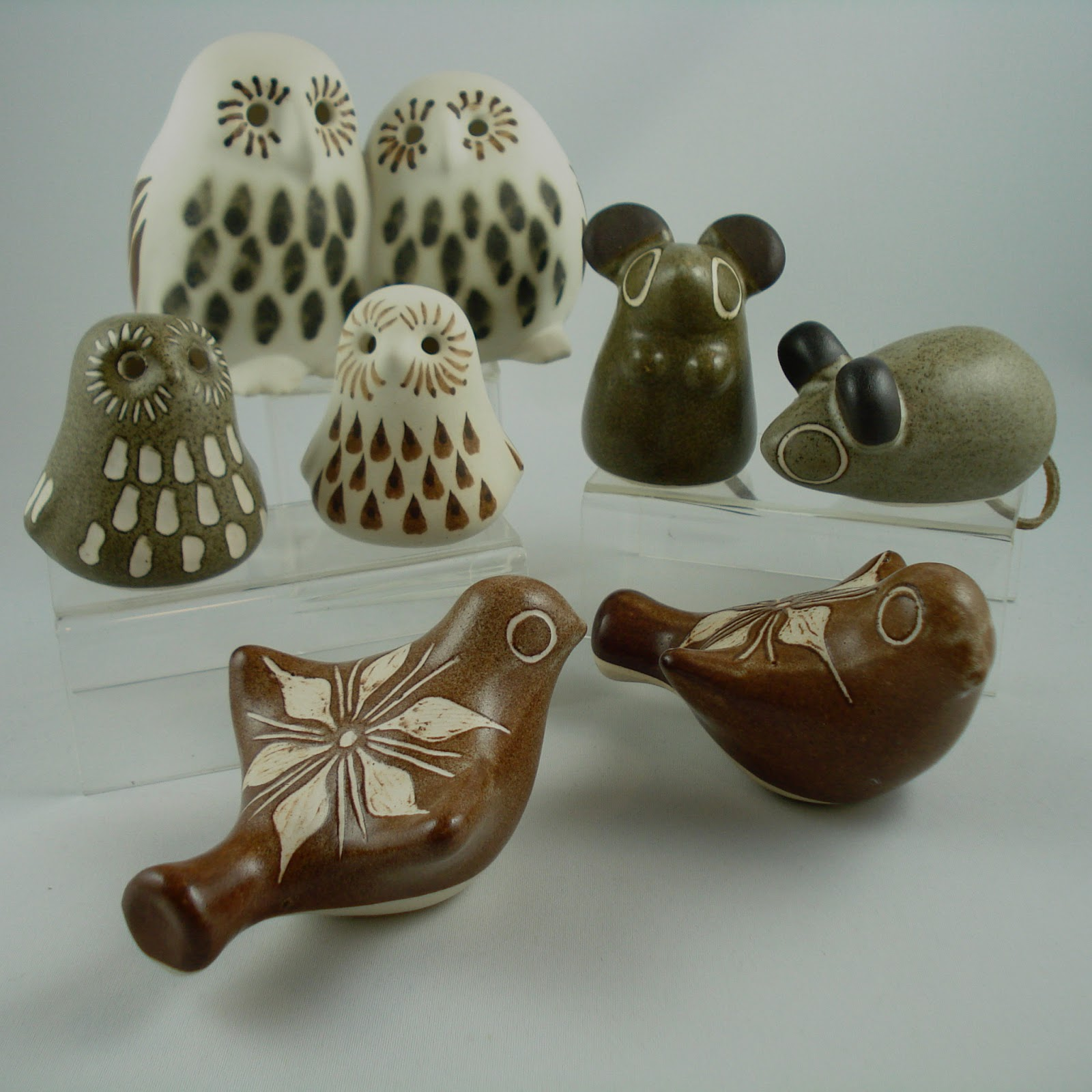 moderncraze strawberry hill pottery critters have landed