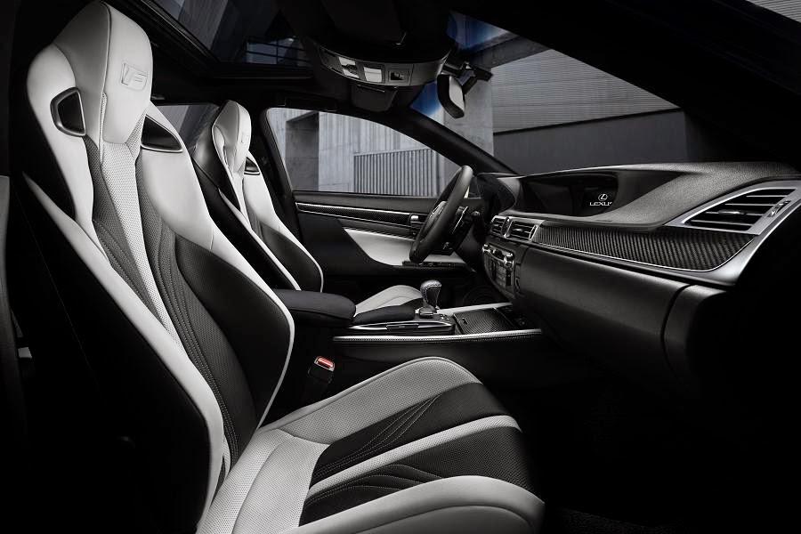 Lexus GS F (2016) Interior