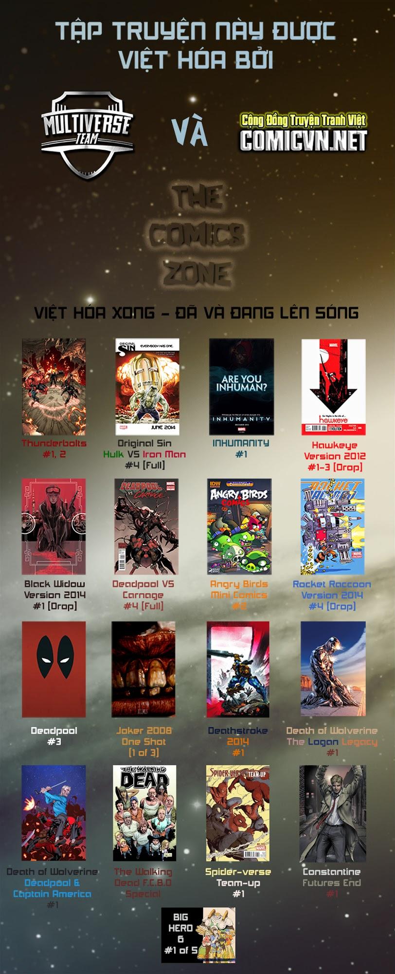 Hawkeye 2012 chap 3 - Trang 1