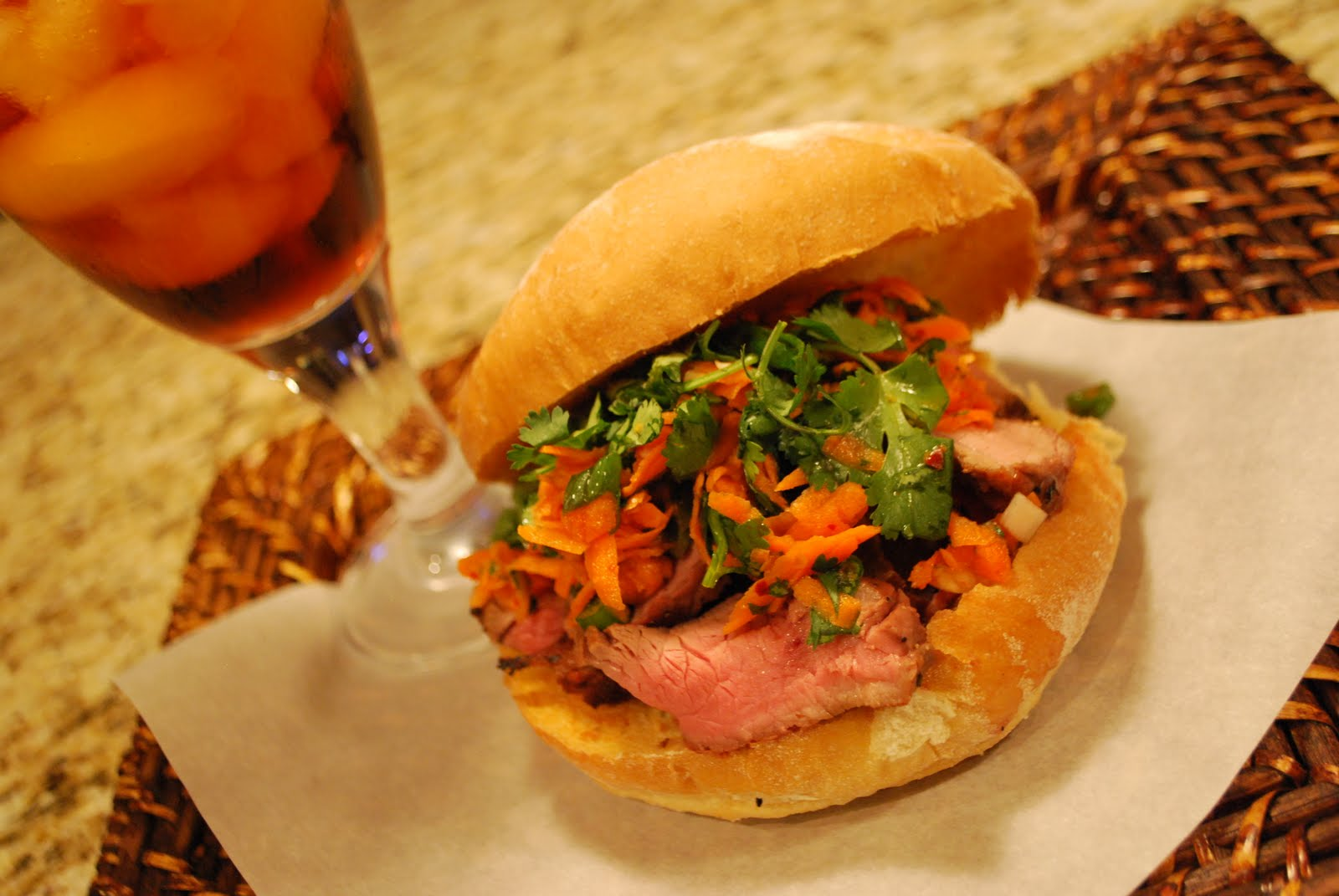 The Simple Fig: Vietnamese Steak Sandwiches