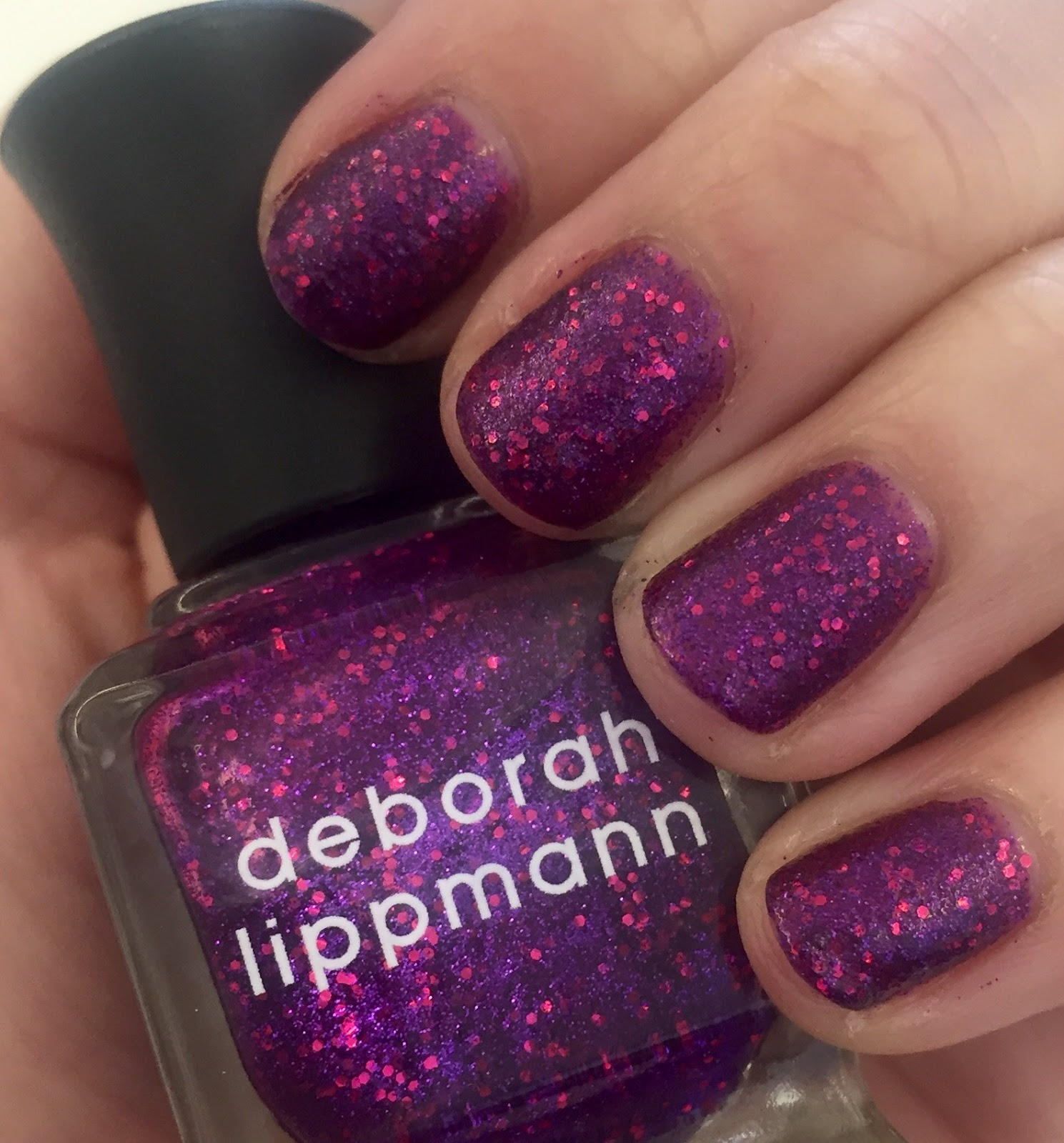 The Beauty of Life: #ManiMonday: Deborah Lippmann Flash Dance
