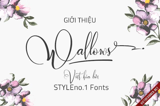 [Script] Wallows Typeface Việt hóa