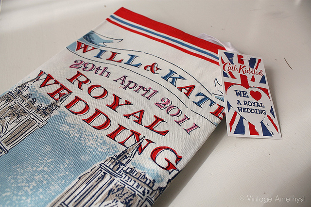 royal wedding tea towel. Royal Wedding Tea Towels!