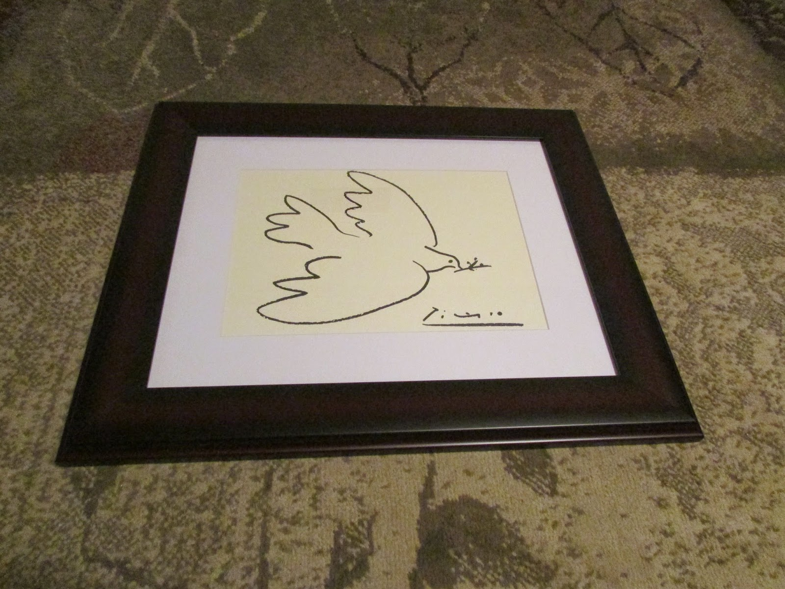 pablo picasso dove painting