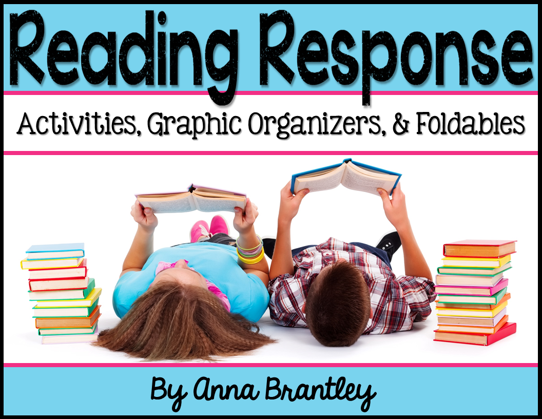 Fiction Reading Response Activities, Graphic Organizers, and Foldables