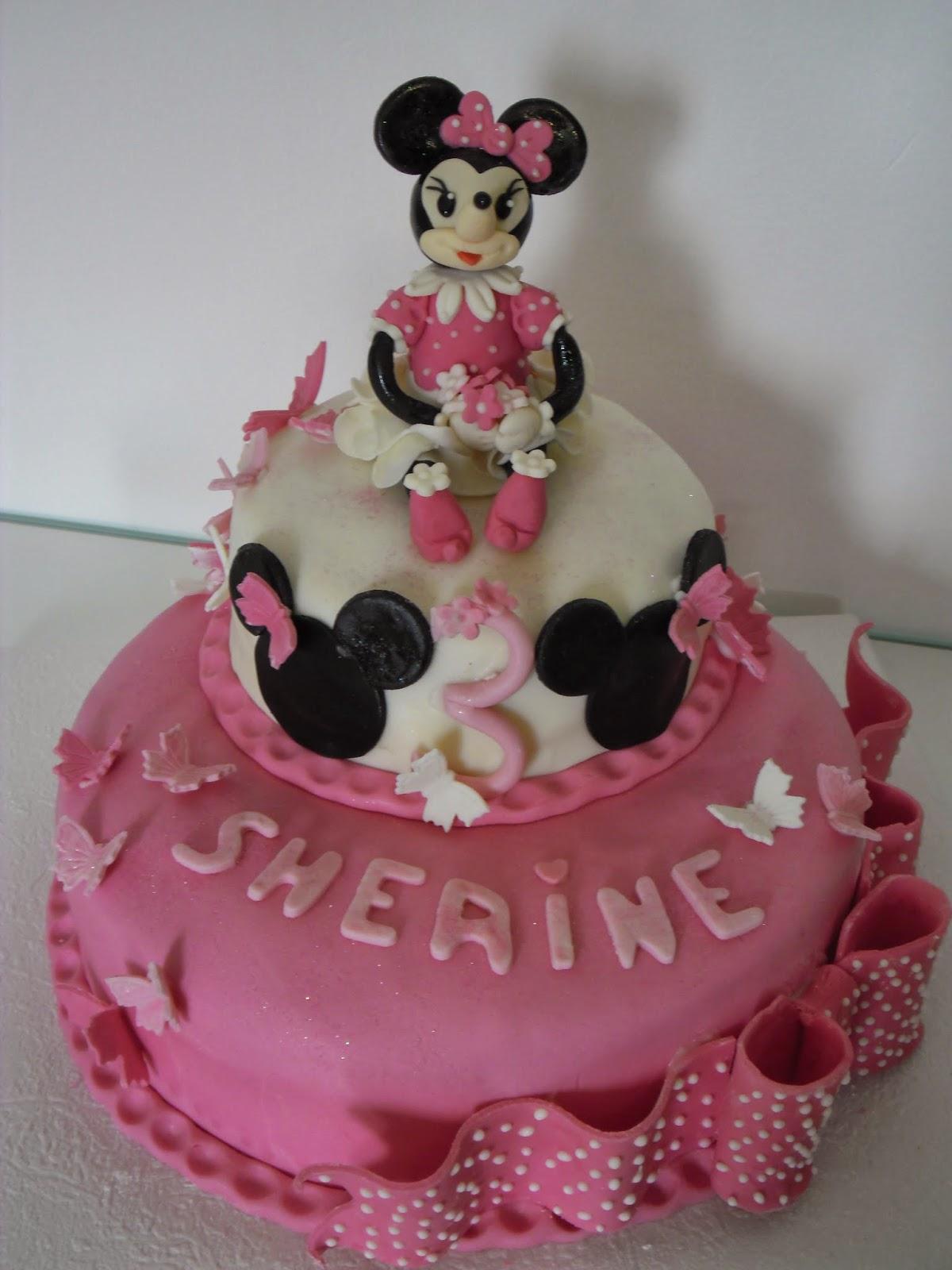 Gâteau Danniversaire Minnie Mouse Gateaux Daline