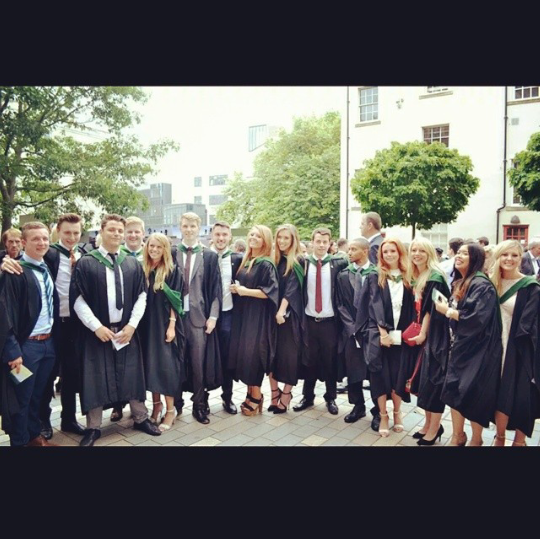 Graduating from university of leeds