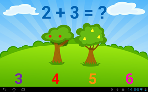 Game android anak 3 tahun Kids Numbers and Math Lite