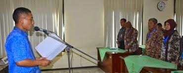 Rotasi, 21 Kepala Puskesmas Se-Kabupaten Batang Dikukuhkan
