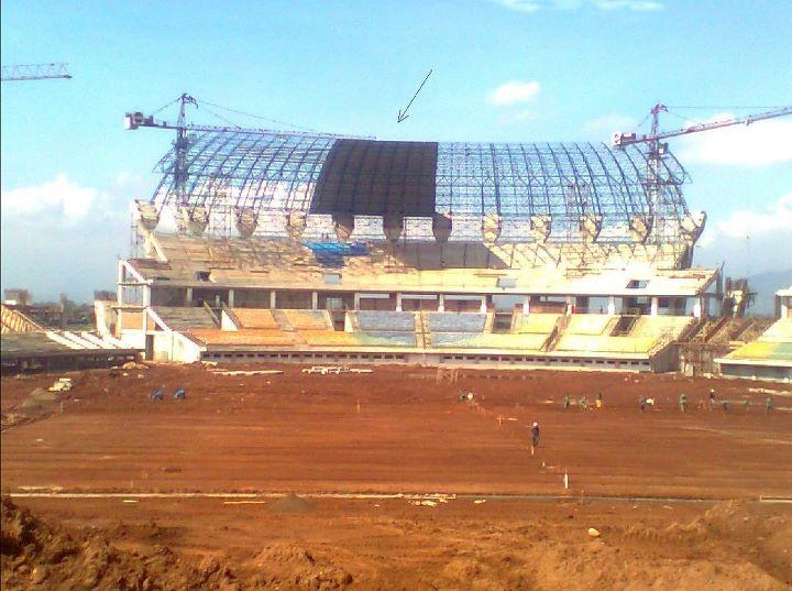 Stadion Gedebage terkini (Update)
