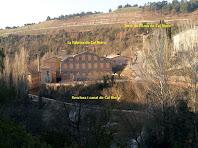 Vista de la façana nord de la Fàbrica de Cal Riera