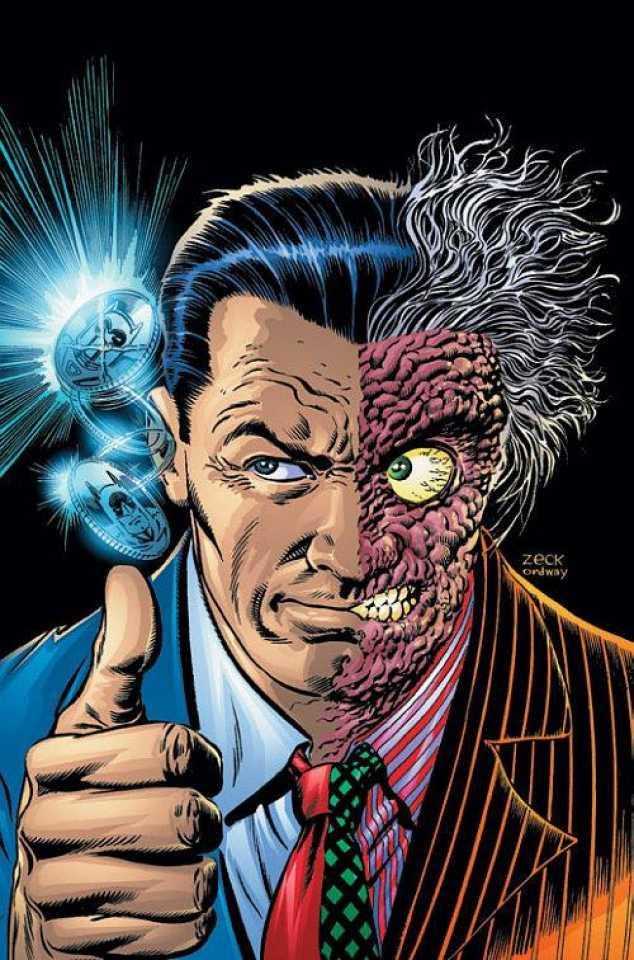 Two-Face (Harvey Dent) - DC Comics Villains