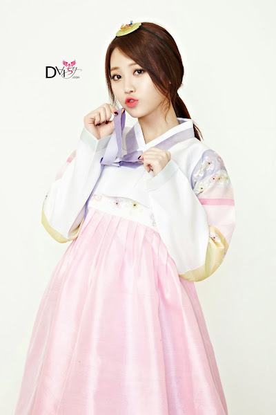 Girls Day Yura Lunar 2014 Hanbok