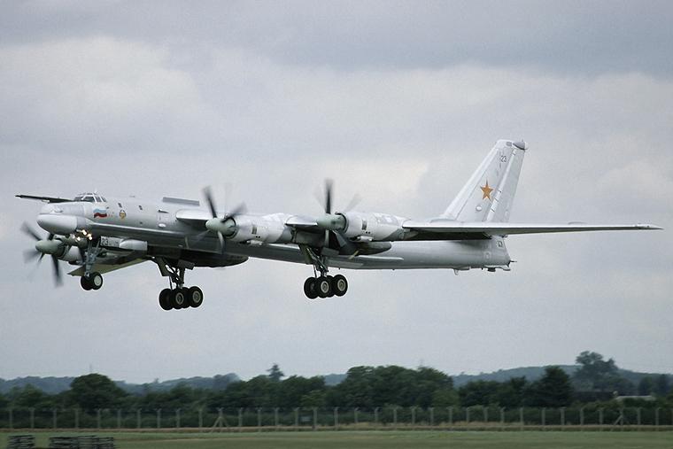 Russia - Bomber Plan Tupolev Tu-95