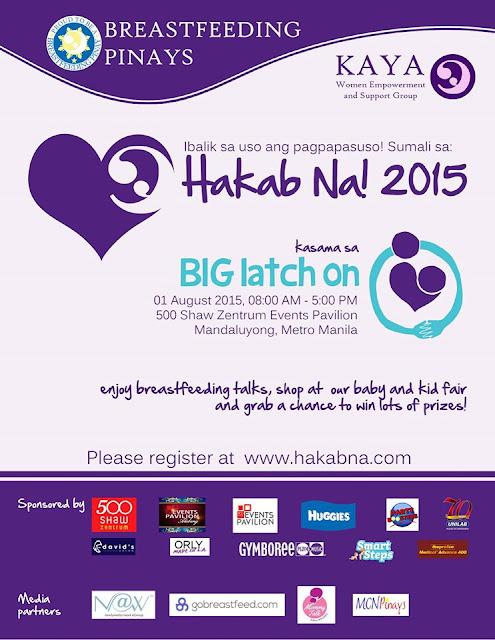 TSM Invites You to Join Hakab Na 2015; Biggest Breastfeeding Activity