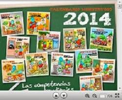 CALENDARIO 2014 PARA TRABAJAR LAS COMPETENCIAS BÁSICAS EN FAMILIA