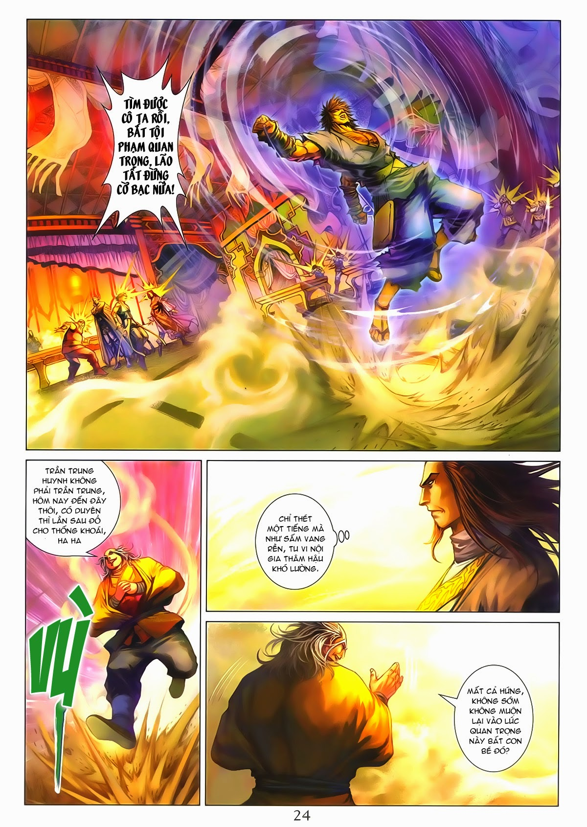 Tứ Đại Danh Bổ Chap 286 - Trang 24