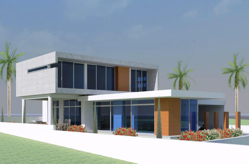 Modern beautiful home exterior design ideas latest home for Latest beautiful houses