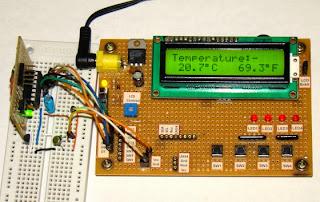 تحكم في الحرارة بدقة عالية جدا 'تيرمومتر رقمي' LM35_OP