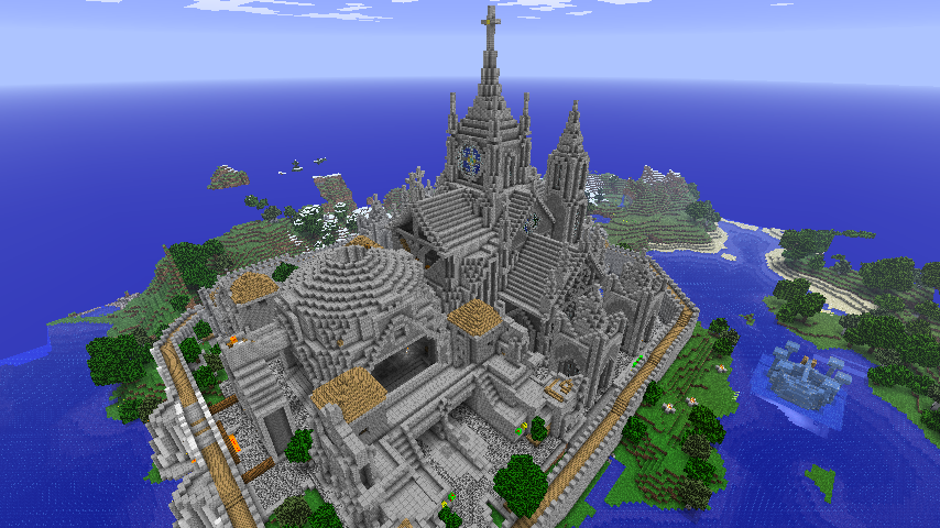 Amazing minecraft structure awesome building structure