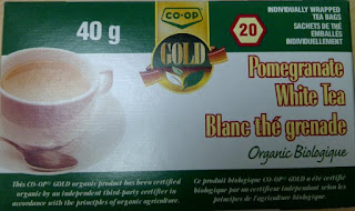 image Salmonella ALert Co-Op Gold Organic Pomegranate White Te package