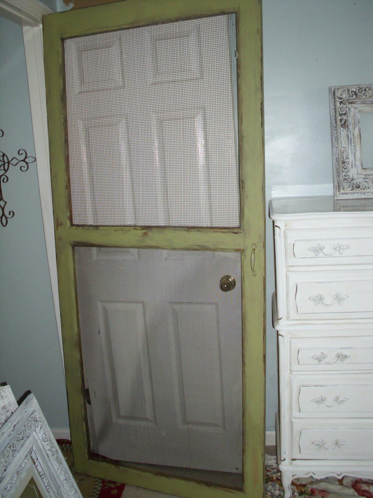Vintage Screen Doors : The french flea old vintage screen door