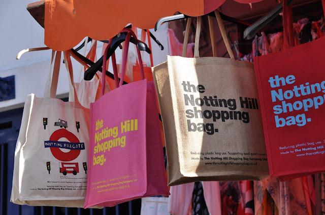 Portobello+Market+Notting+Hill+shopping+bags