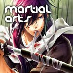 Anime genre male Martial Arts animes
