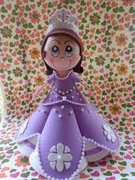 Fofuchas - Fofucha princesa sofia