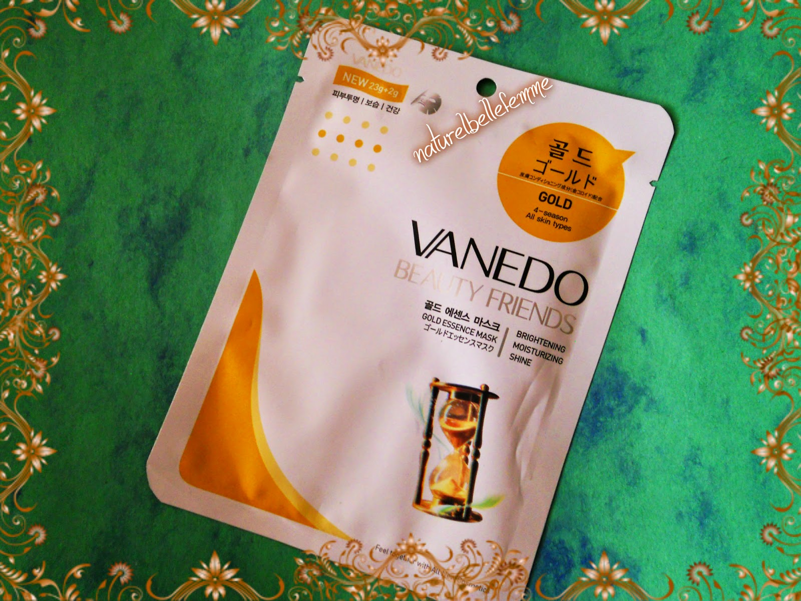 Vanedo Gold sheet mask