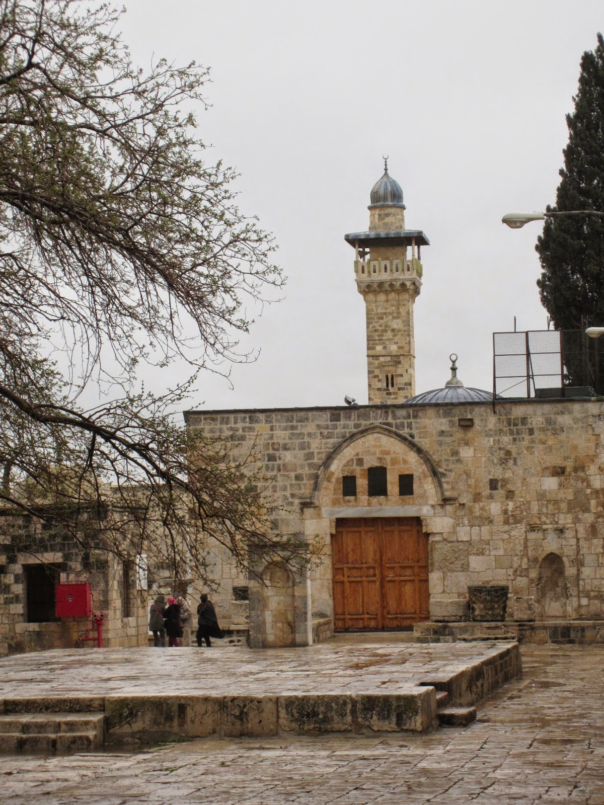 Minaret of Israel, Temple Mount, Jerusalem / Souvenir Chronicles