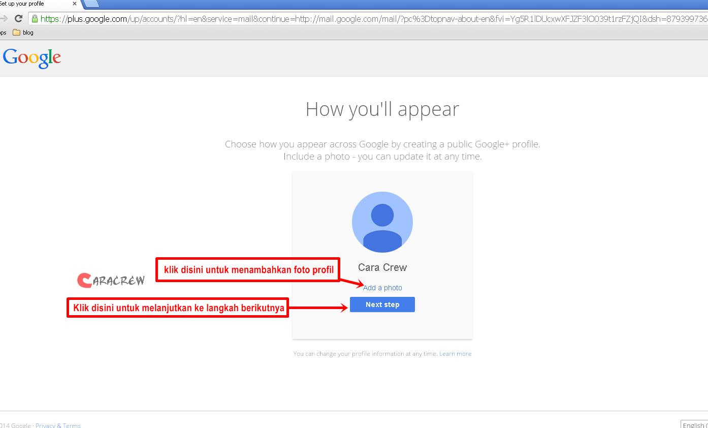 Cara membuat email di gmail milik google