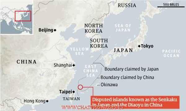 Pulau Perebutan China dan Jepang - Diaoyu/Senkaku
