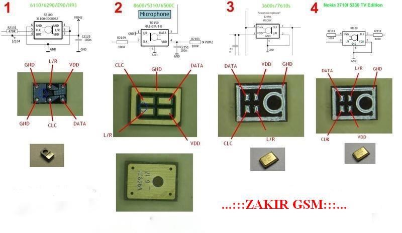 Mobile Phone Repairing Zakir Gsm Digital Mic Ways