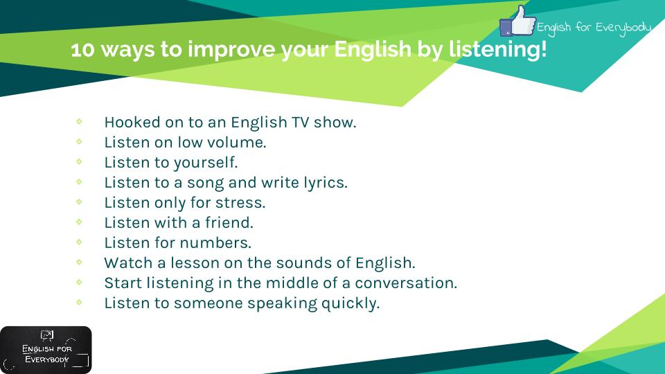 ways to improve your english Learn about 5 simple and effective ways to improve your business language skills and communicate like a pro.