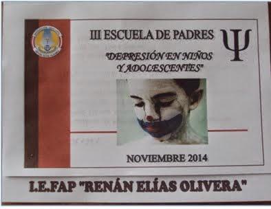 INVITACIÓN III ESCUELA DE PADRES