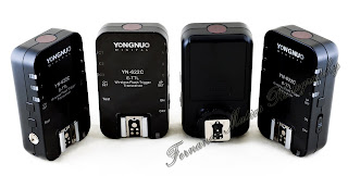 Yongnuo YN-622c wireless E-TTL flash triggers