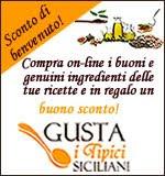 Il negozio on-line Gusta i tipici siciliani