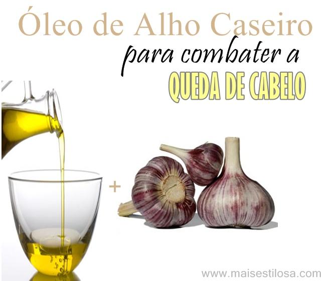 Como fazer óleo de alho caseiro