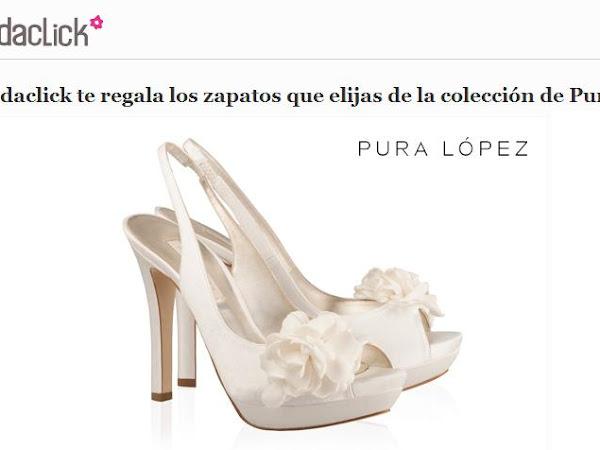 Bodaclick sortea Zapatos de Novia de Pura López