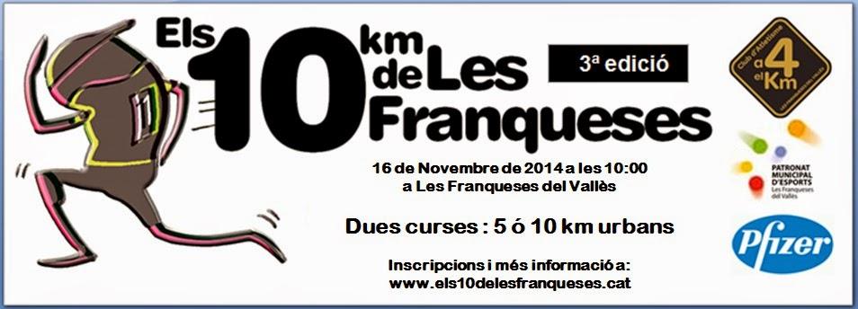 """""""Els 10 km de les Franqueses"""""""