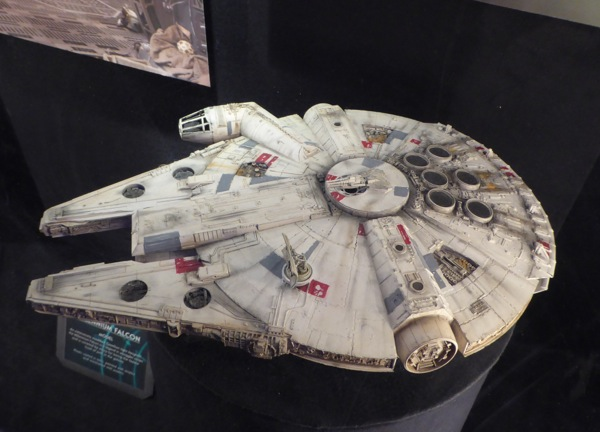 Star Wars Force Awakens Millennium Falcon