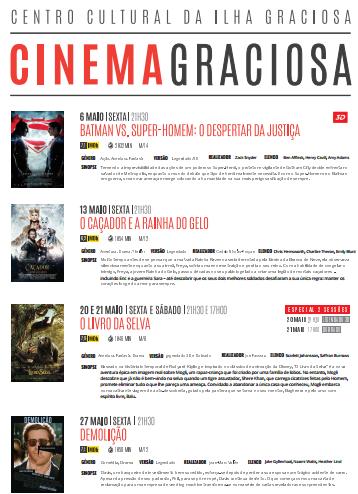 Cartaz de Cinema de Maio