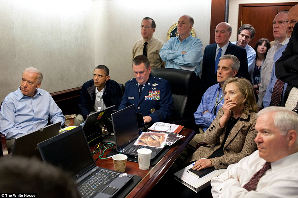 Obama witnessed the death of Osama bin Laden