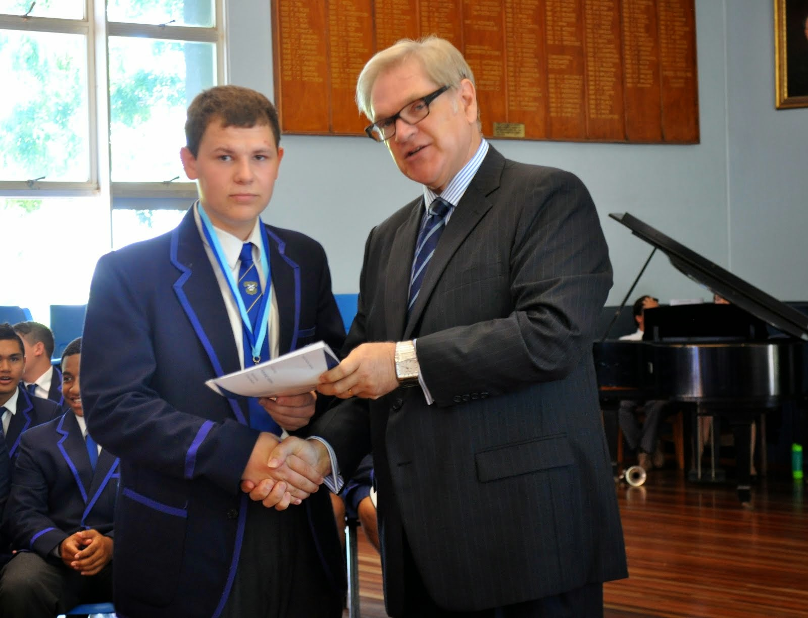 Vanya Kable Dux of Maths C