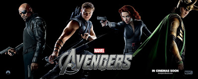 The Avengers Character One Sheet Movie Poster Set 2 - Samuel L. Jackson as Nick Fury, Jeremy Renner as Hawkeye, Scarlett Johansson as Black Widow & Tom Hiddleston as Loki