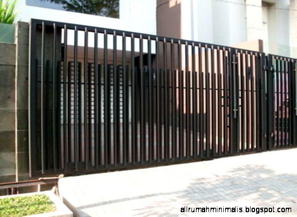 Pusat Pembuatan Pagar Canopy Rumah Minimalis  021 9554 7773