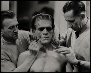 Maquillaje de El doctor Frankenstein